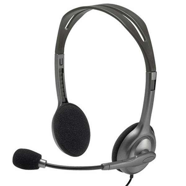 Logitech Stereo Headset H111 large 1