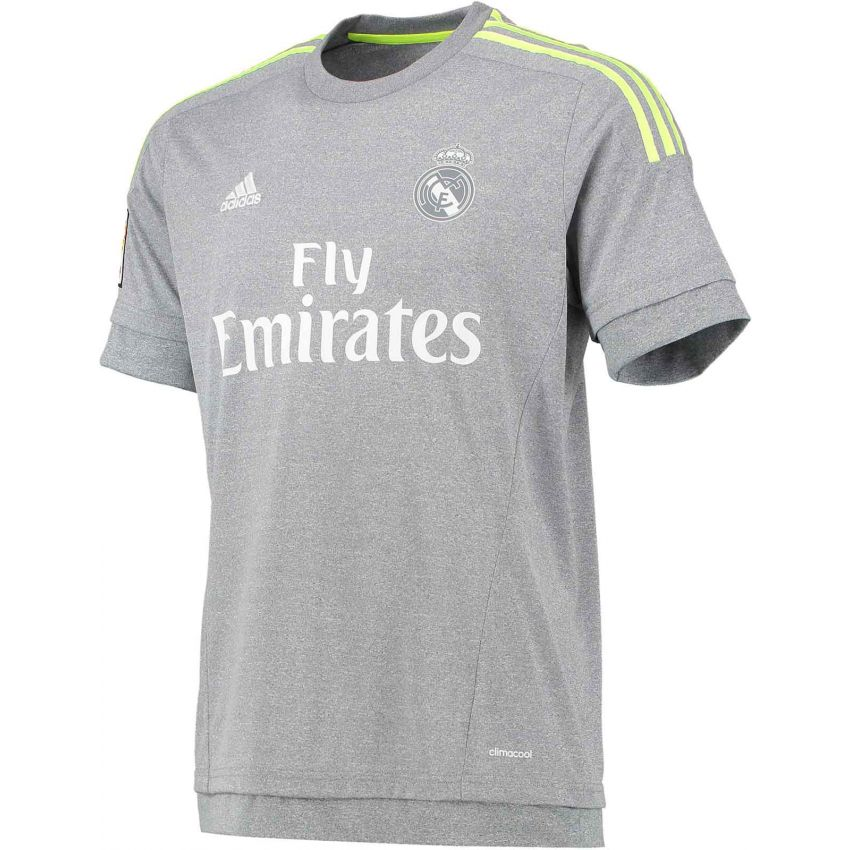 Real Madrid Football Grey Jersey large 1
