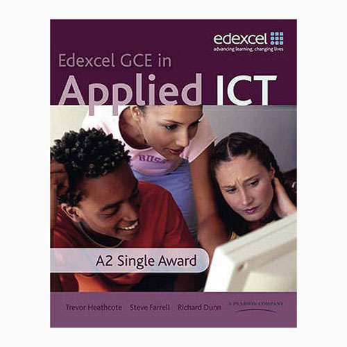 Edexcel GCEIn Applied ICT A2 Single Award with CD B060313 large 1