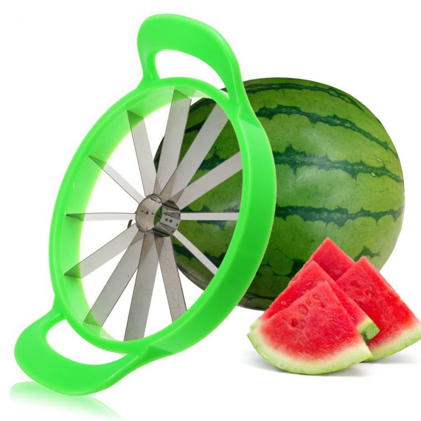 Stainless Steel Melon Cutter Slicer large 1