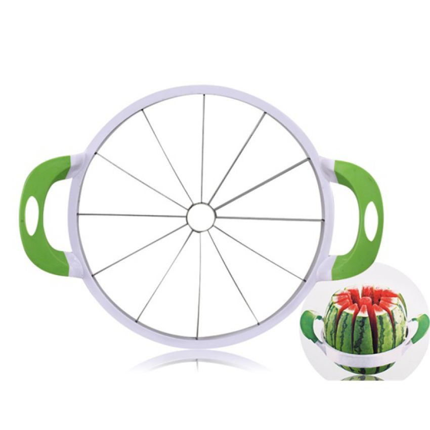 Stainless Steel Melon Cutter Slicer large 3