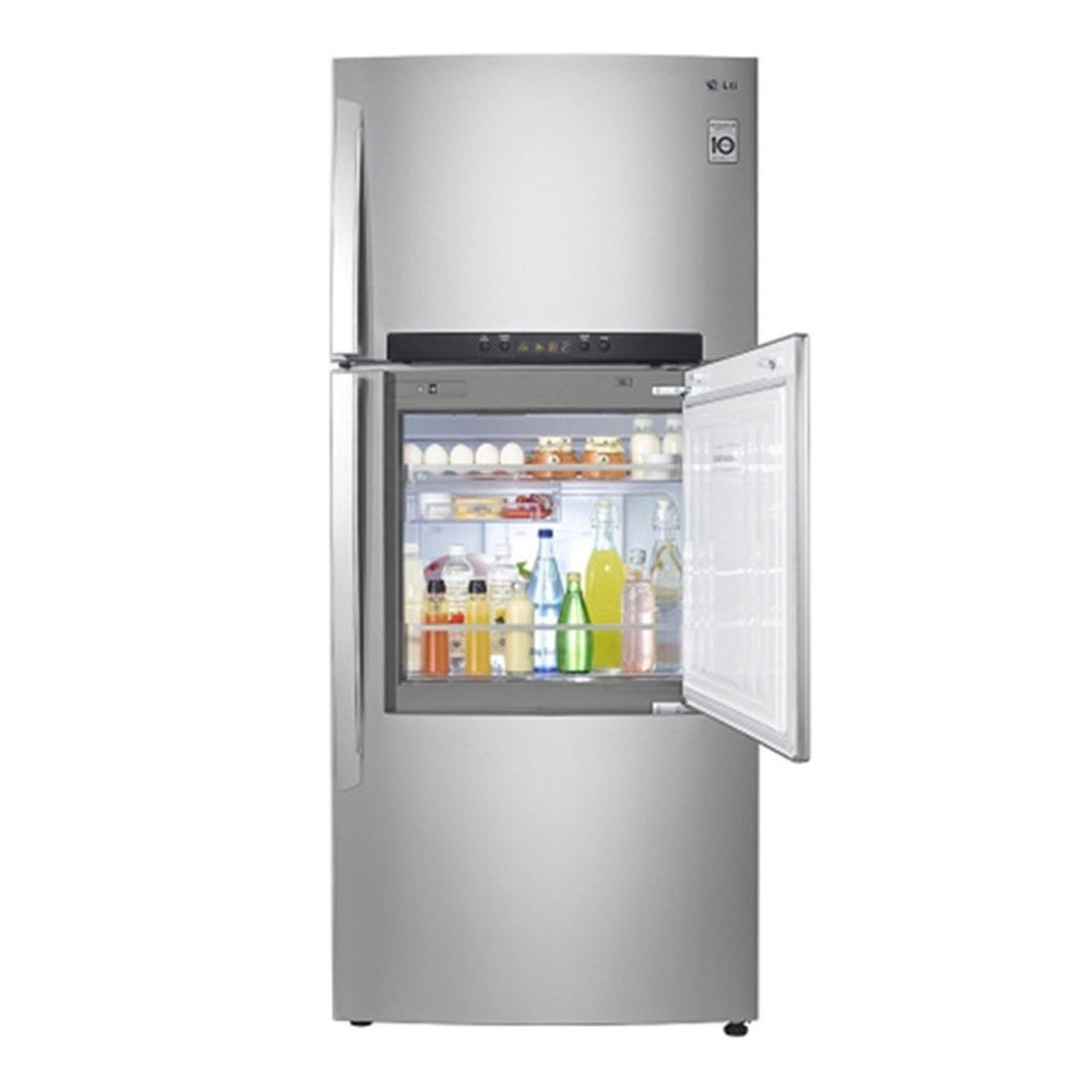 Lg inverter double door refrigerator m4111