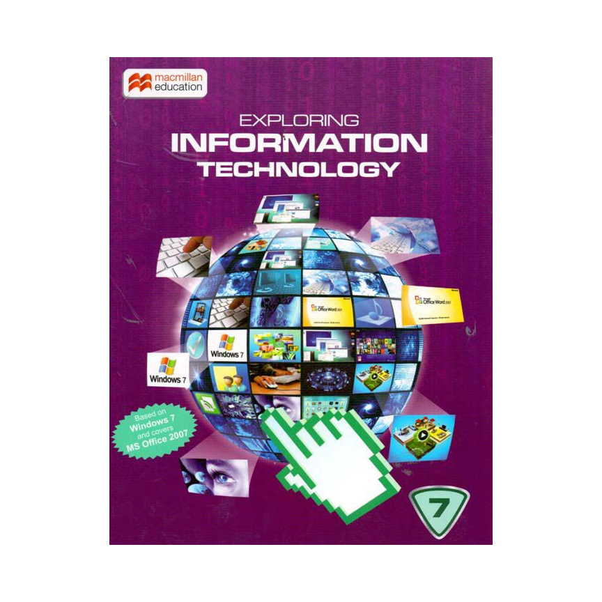 Exploring Information Technology-7 with CD Windows 7 Edition B100537 large 1