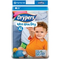 Drypers Baby Diapers Wee Wee Dry  XL 36pcs large 1