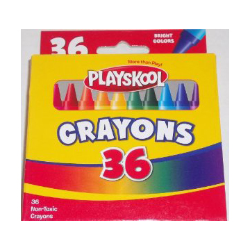 Playskool Crayons 36 Count large 1