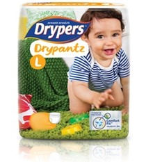 Drypers Baby Diapers DryPantz Pack Large 20 pcs large 1