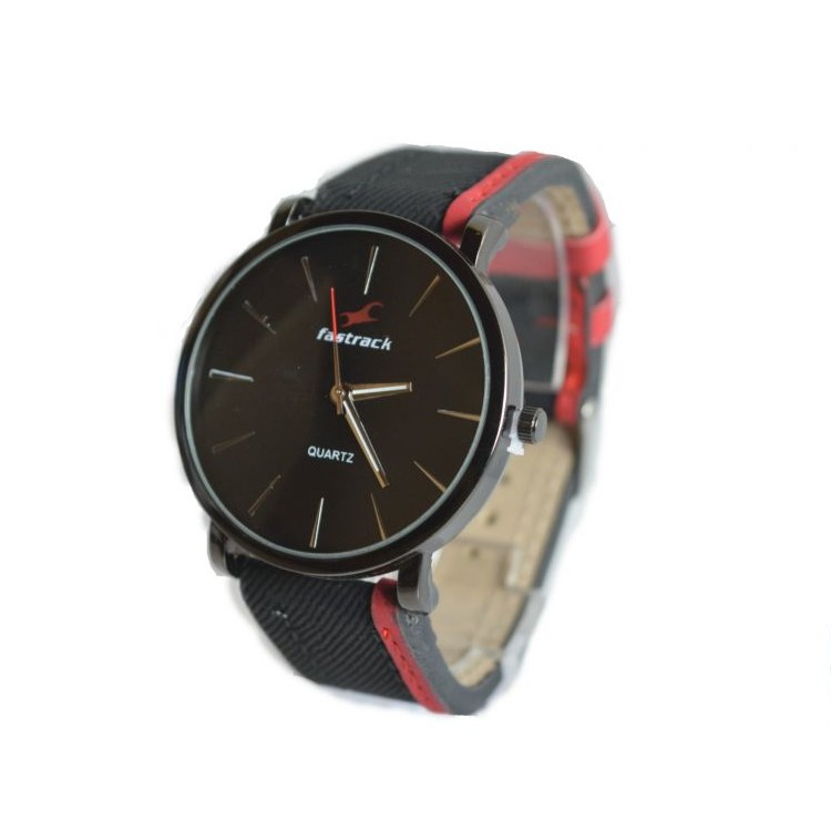 Fastrack Black Dial Watch large 2