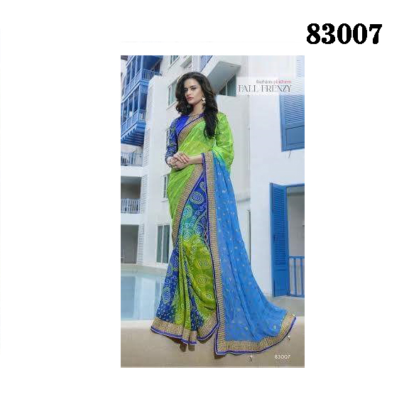 Designer Saree 83007 large 1