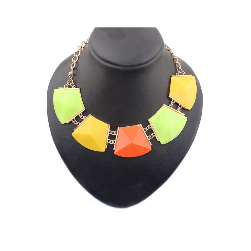 Ladies Fashion Geometry Chockers Necklace large 1