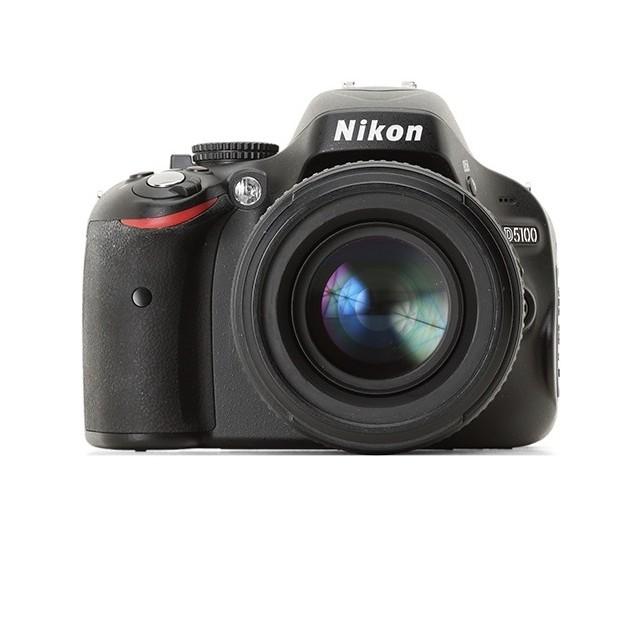Nikon D5100 Digital Slr Camera With 18-55mm F/3.5-5.6g Vr Lens