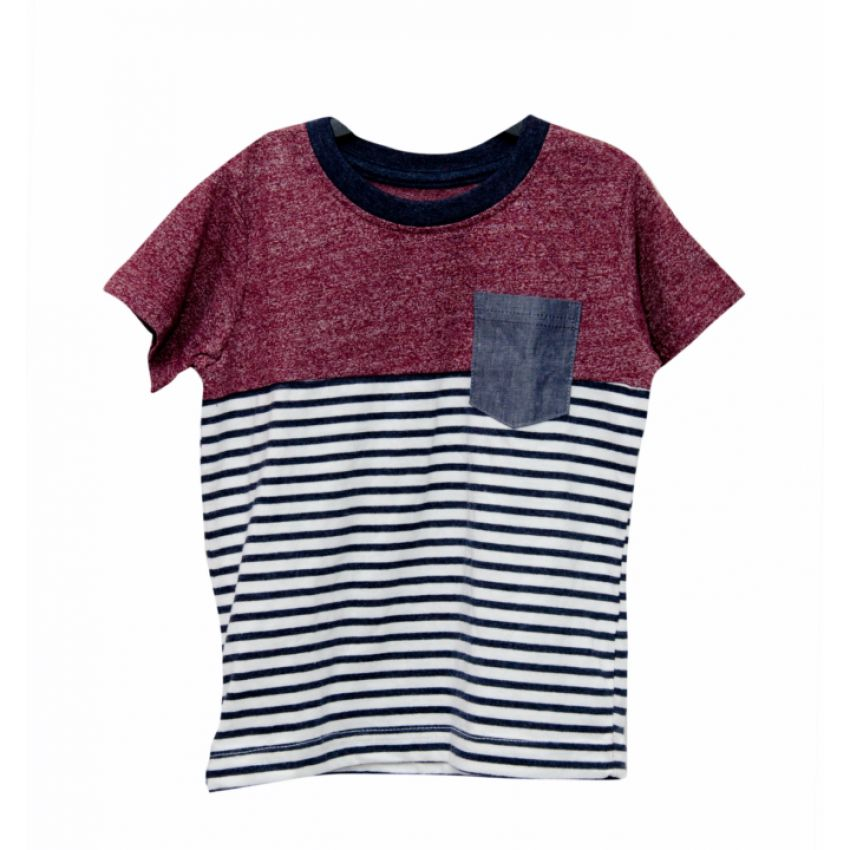 Boys T-shirt With Pocket large 1