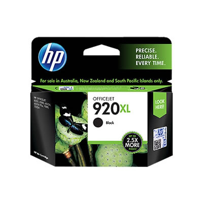 Hp 920Xl Officejet Ink Black Cartridge large 1