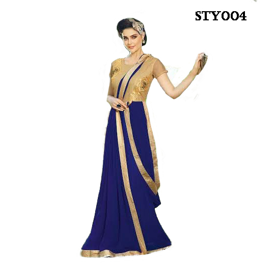 Designer Gown STY004 large 1