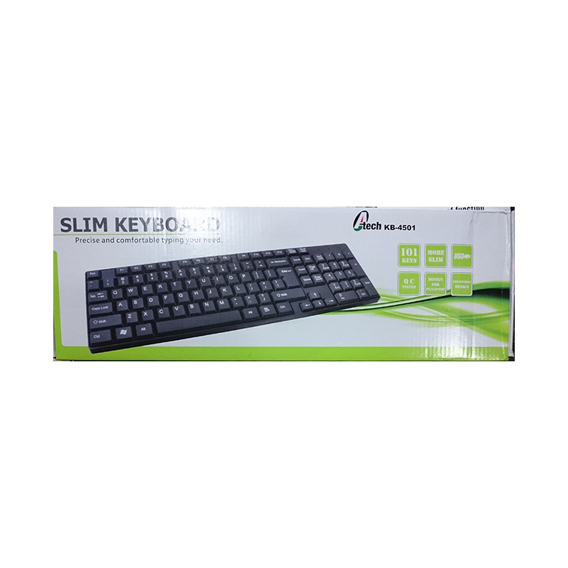 A Tech USB Keyboard KB4501