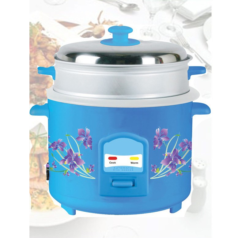 Deluxe Rice Cooker With Steamer 2 2L large 1