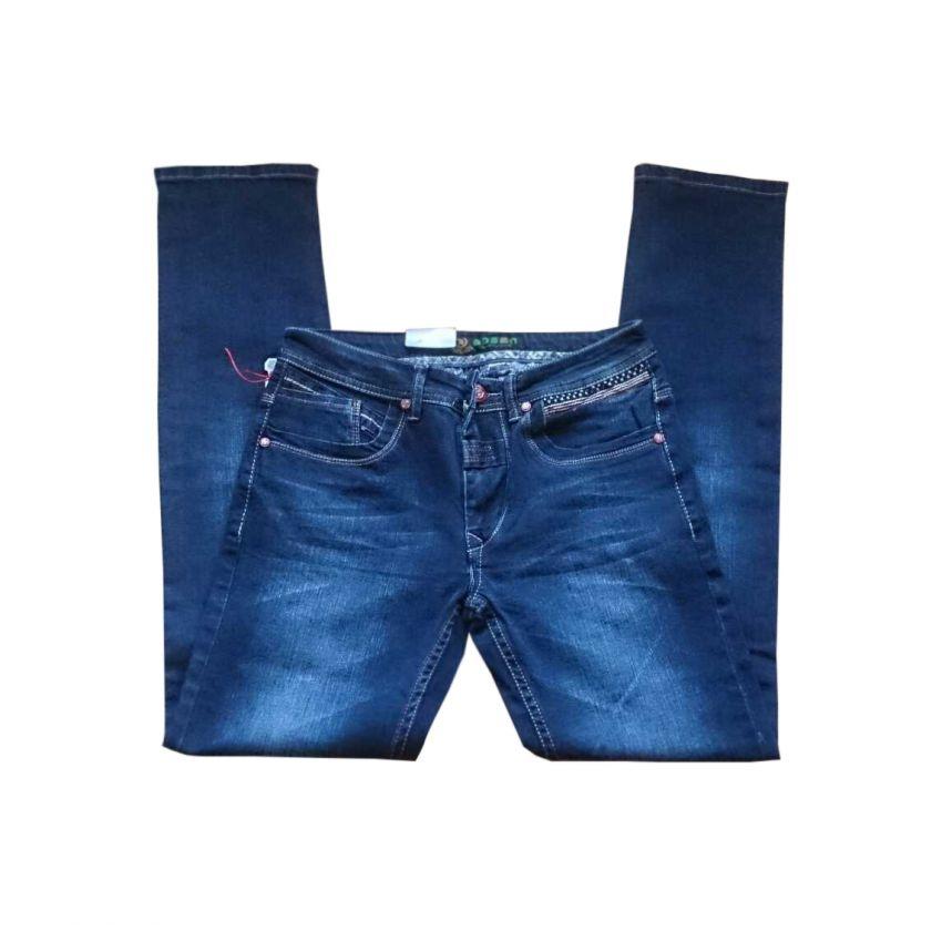 Faded Slim Fit Denim Jeans