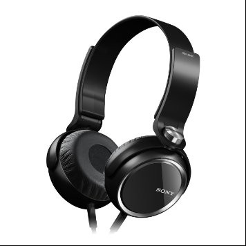 sony headphone MDR-XB400 large 1