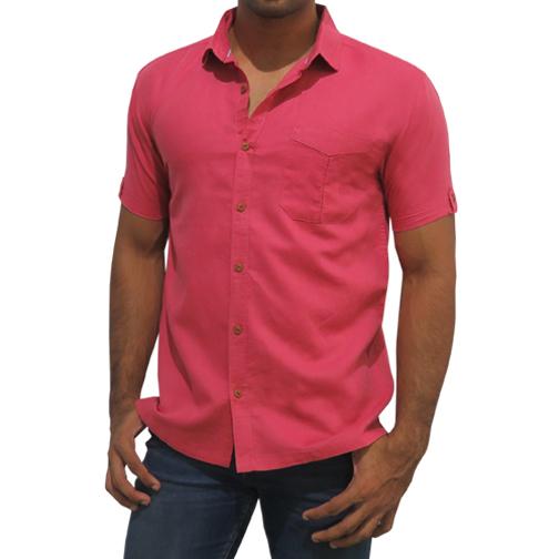 Mens Garnet Rose Shirt C-PCF0075SS136