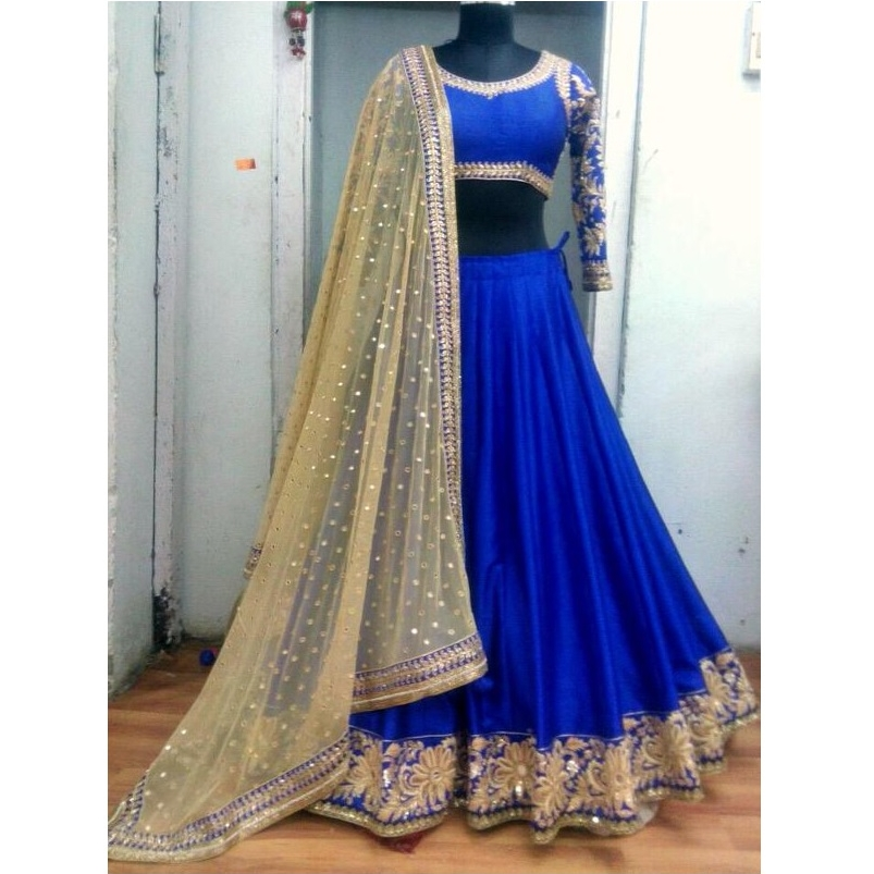 Designer Wear Lehenga DL046 large 1
