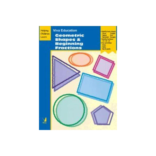 Viva Education-Geometric Shapes & Beginning Fractions B570119 large 1