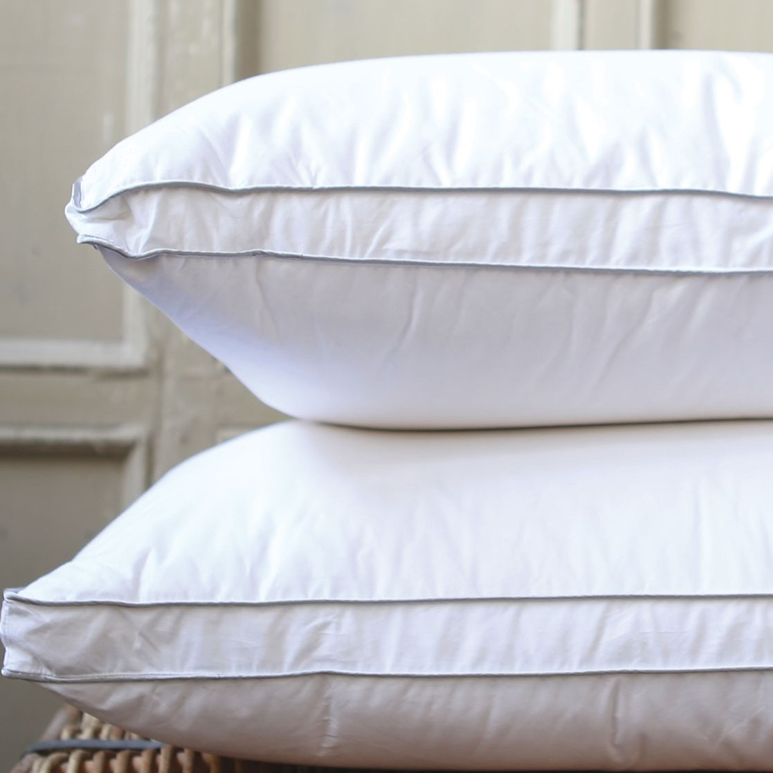 Luxury Triple Layer Feather Pillow large 1