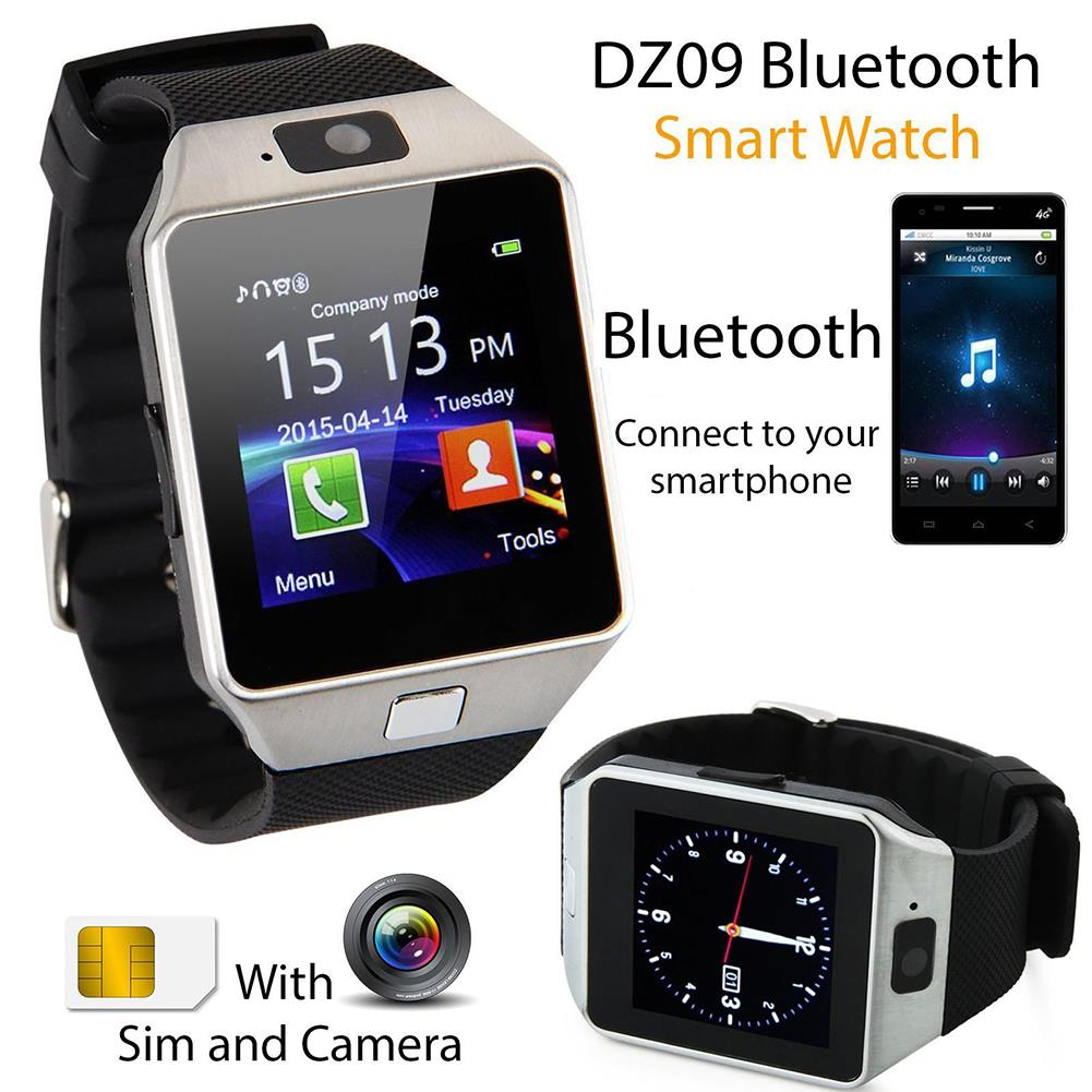 DZ09 Smart Watch Full Set with Bluetooth Headset large 1