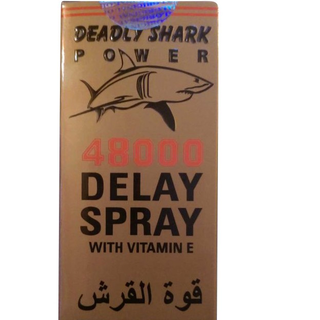 Deadly Shark 48000 Delay Spray for Men large 2