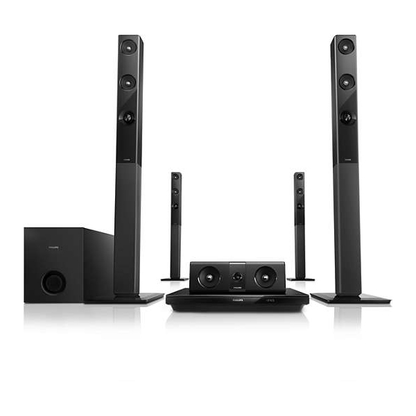PHILIPS 5.1 3D Bluray Home Theater HTB3580 98