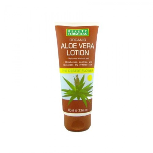 Beauty Formulas Organic Aloe Vera Lotion 100ml large 1
