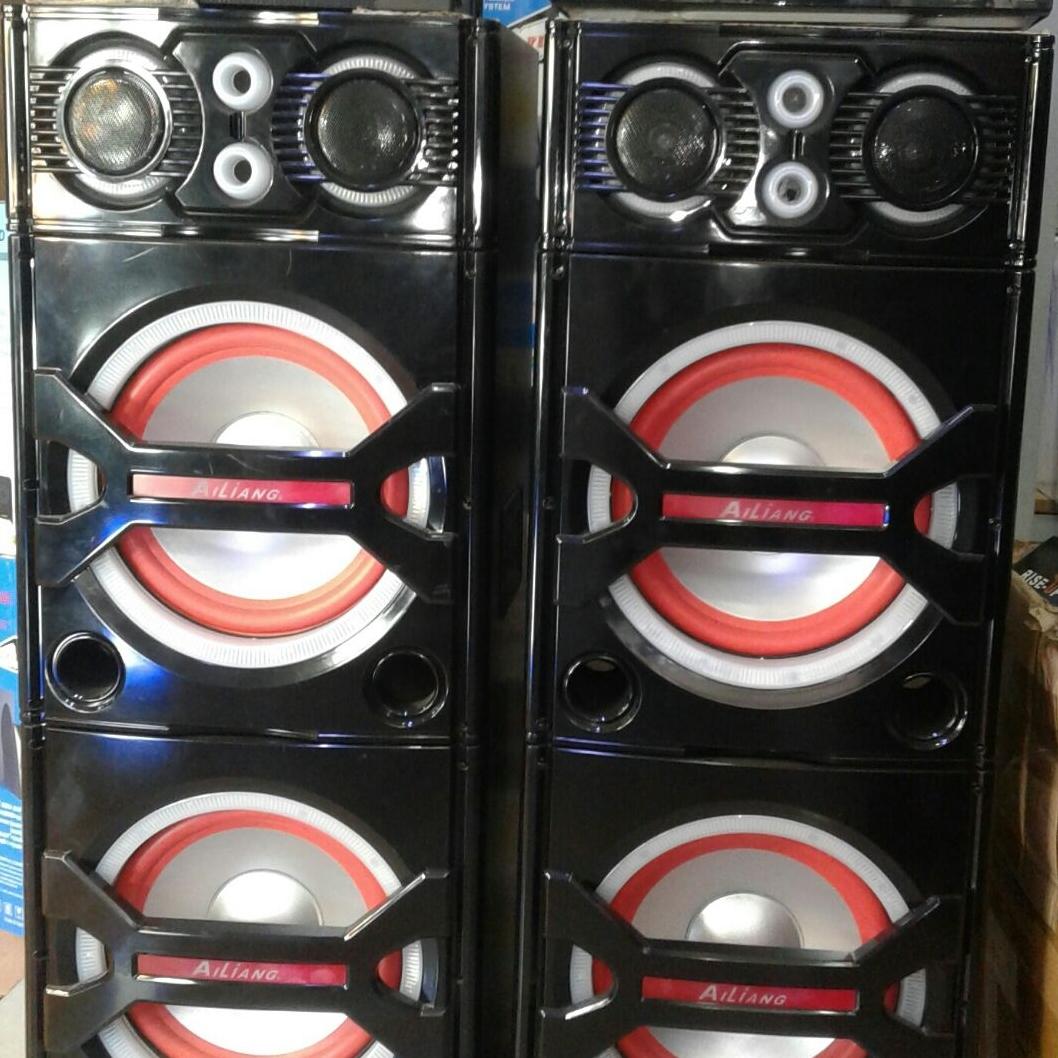 Dual stage speakers