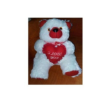 XL Bear With Heart large 1