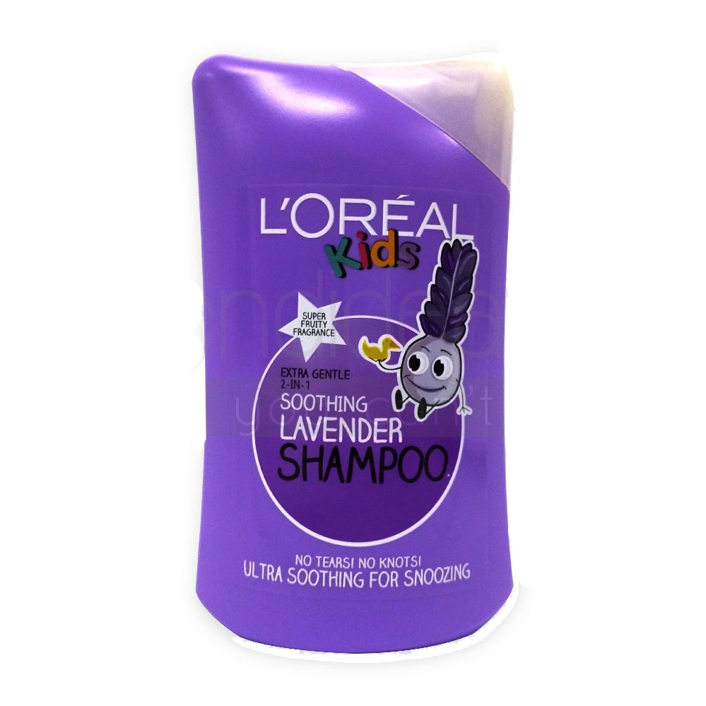 LOreal Kids Shampoo Soothing Lavender 200ml large 1
