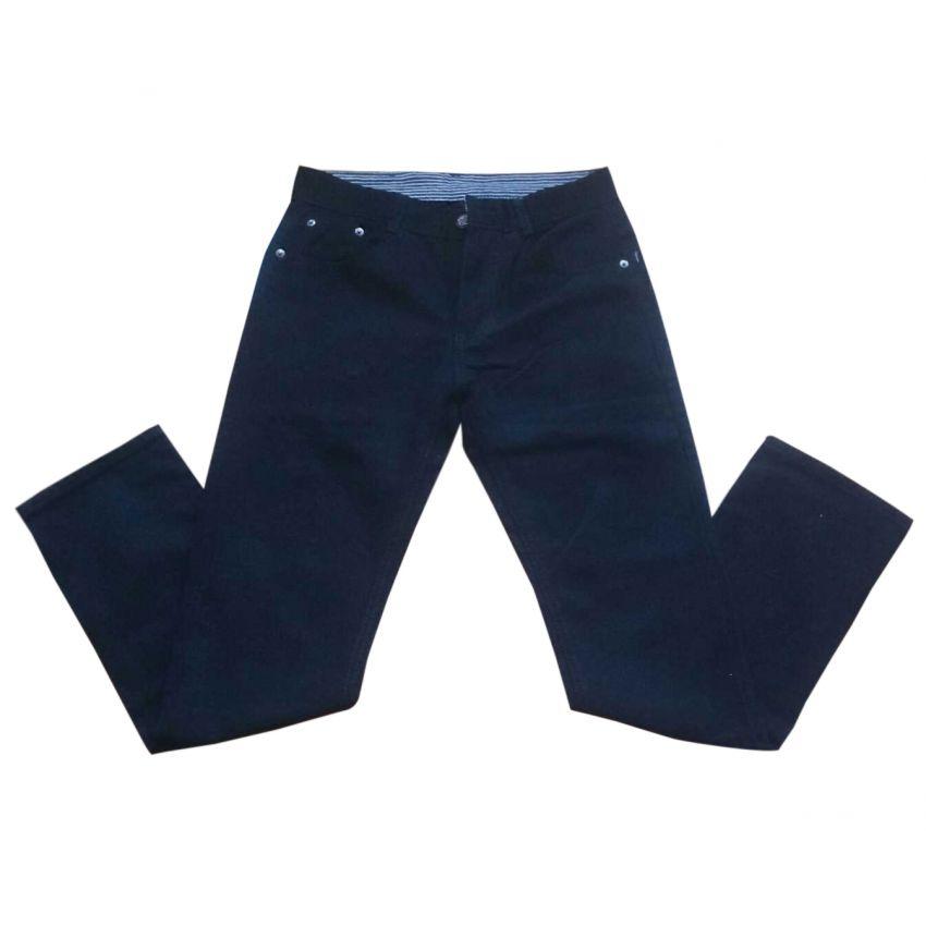 Black Slim Fit Cotton Denim Jeans