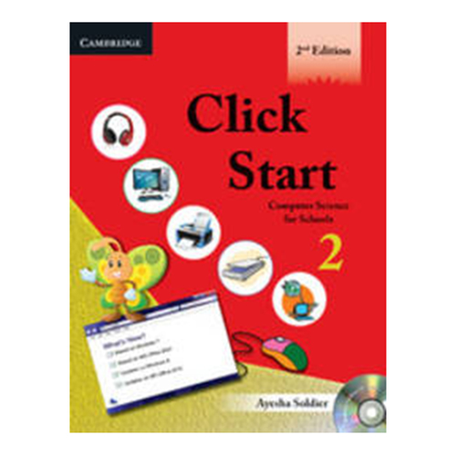 Click Start-2-2E with CD Computer Science For School B011312 large 1