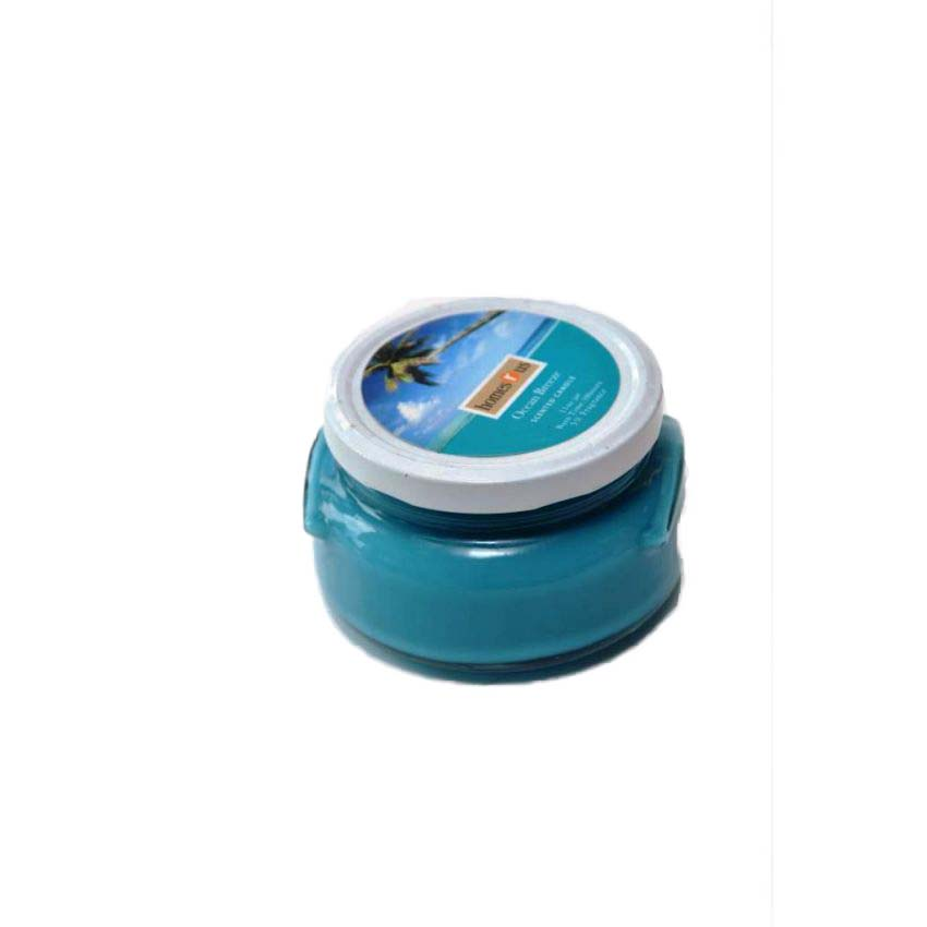 Ocean Blue Scented Candle large 1