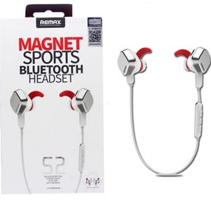 Remax S2 Magnet Sports Bluetooth Headset White