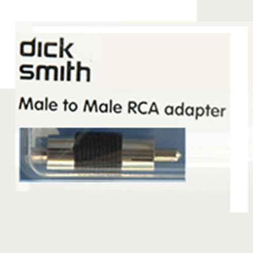 RCA Plug to Plug Connector large 2