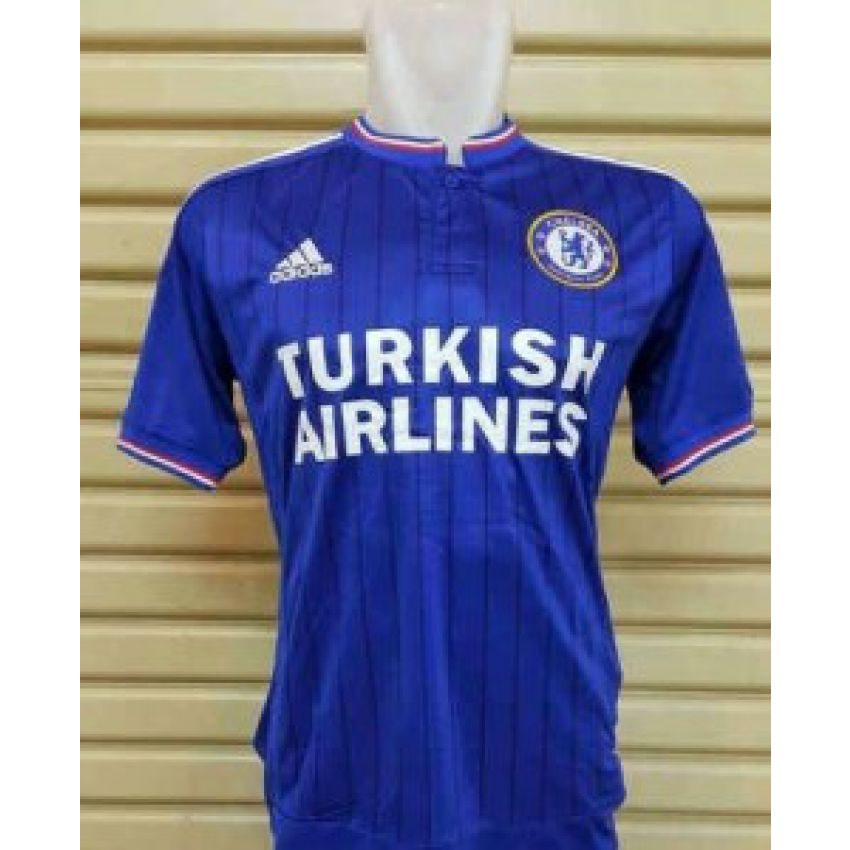 Blue Chelsea Football Jersey large 1