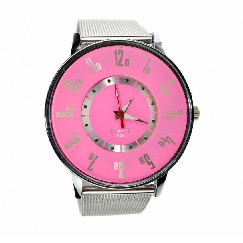 Ladies Stainless Steel Watch large 1