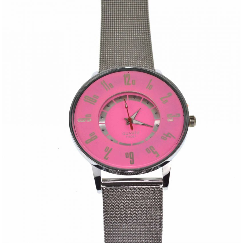 Ladies Stainless Steel Watch large 2