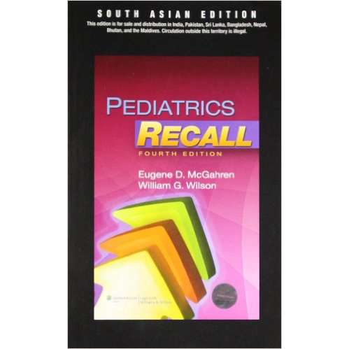 Pediatrics Recall 4E A010452 large 1