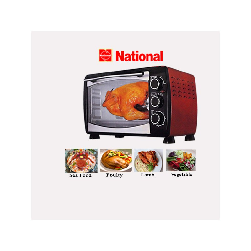 National Electric Oven CK 43B 4Kg 43L