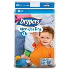 Drypers Baby Diapers Wee Wee Dry XL 56pcs large 1