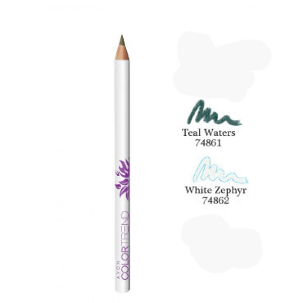 Color Trend Pencil Eyeliner White Zypher Avon 182 large 1