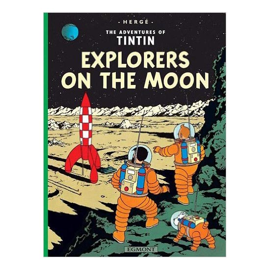 TINTIN and Explorers on the Moon B590007 large 1