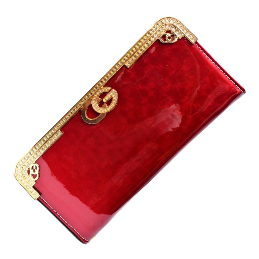 Red Clutch for Women large 1