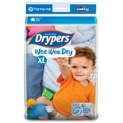 Drypers Baby Diapers Wee Wee Dry XL 20pcs large 1