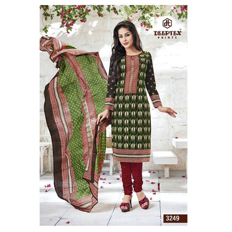 UN-STITCHED SHALWAR MATERIAL DESIGN NO 3249 large 1
