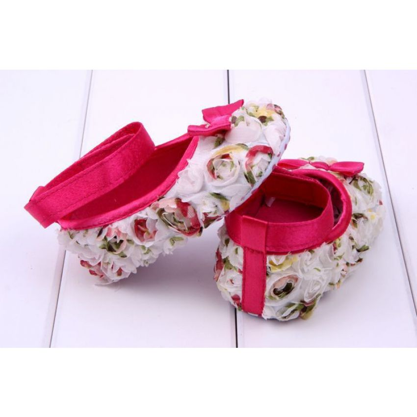 Cute Baby Girls Cotton Shoes large 1
