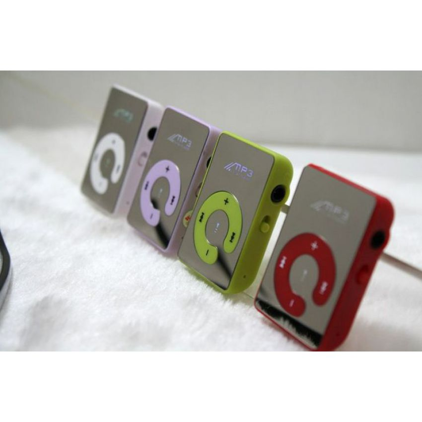 Mini Mirror Clip Card Reader Mp3 Music Players large 1